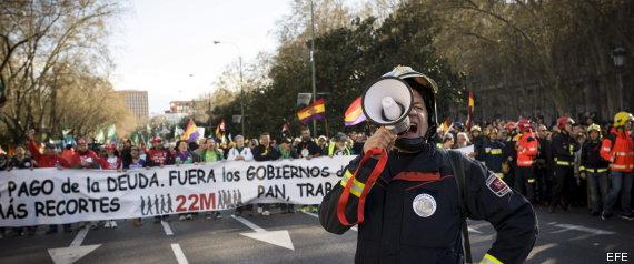 22M – Rajoy dimisión. Fuera la Troika