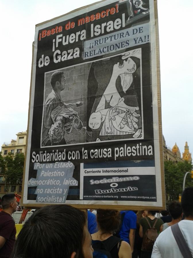 Campaña mundial para frenar el genocidio del Estado racista de Israel
