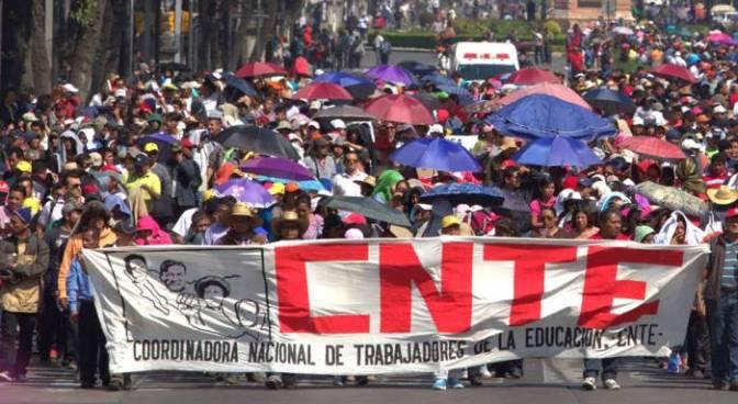 México – Exigimos la libertad inmediata de los docentes de la CNTE de Oaxaca