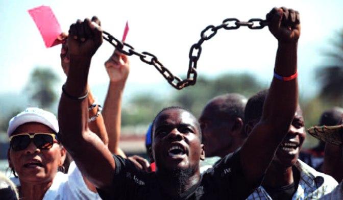 Rebelión en Haití