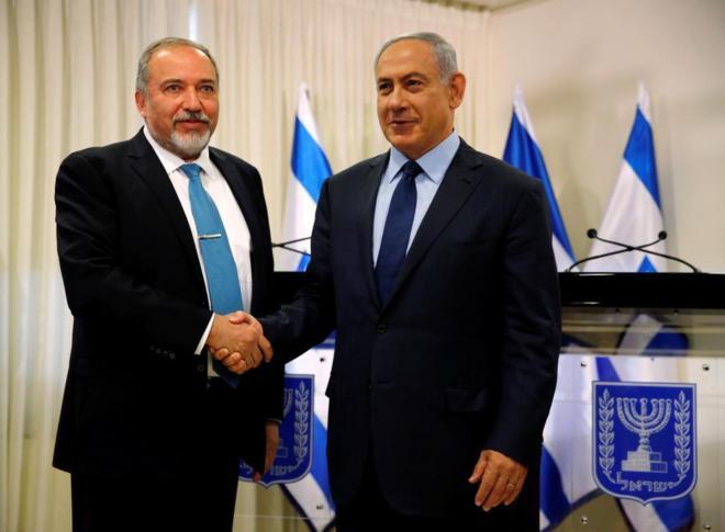 El fascista Lieberman, a cargo de las Fuerzas Armadas sionistas
