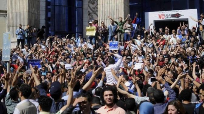 Descontento creciente y represión en masa
