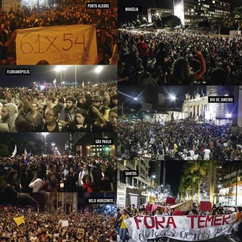 Brasil-Fora Temer