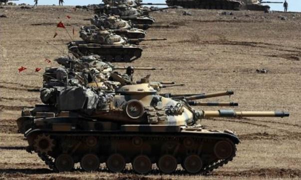 ¡Fuera los tanques turcos de Siria!