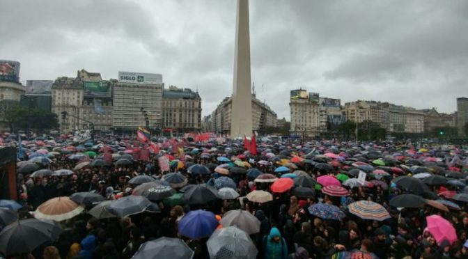 Huelga de Mujeres en Argentina: una jornada histórica