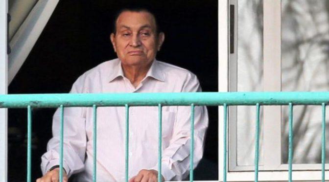 La nueva dictadura liberó a Mubarak
