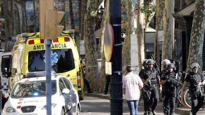Repudiamos enérgicamente el brutal atentado en Barcelona