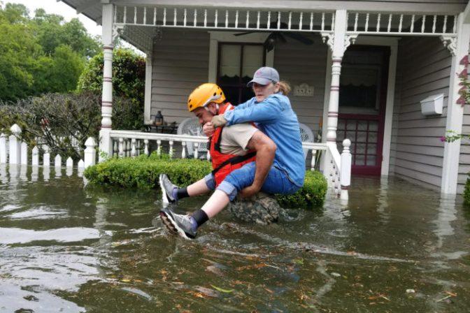 El huracán Harvey arrasa Texas y Louisiana
