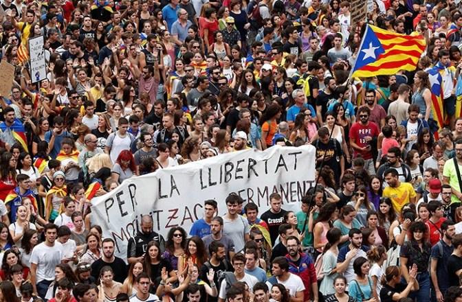 Apuntes sobre la rebelión catalana
