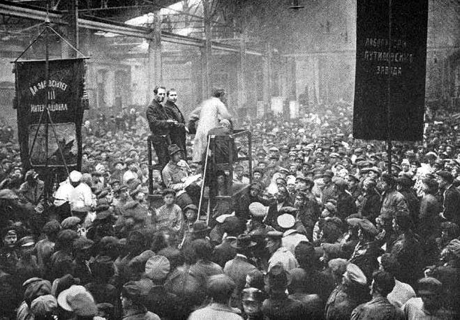 Octubre de 1917, un gobierno de otra clase