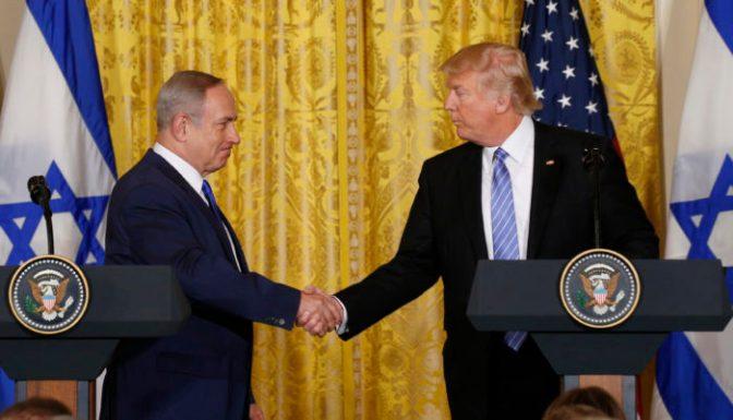 Trump ratifica a Israel como estado único en Palestina