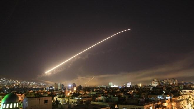 ¡Alto al bombardeo de Trump! ¡Por la autodeterminación del pueblo sirio! por