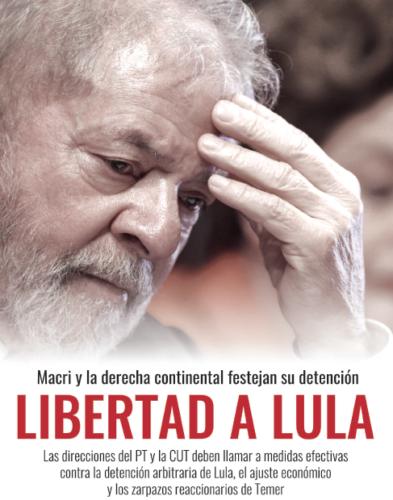 La prisión de Lula