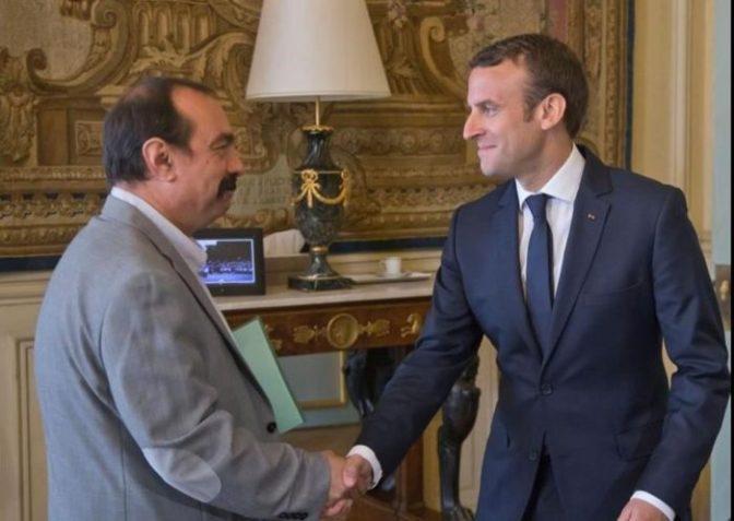 Nuestro proyecto es derrotar a Macron con la huelga general