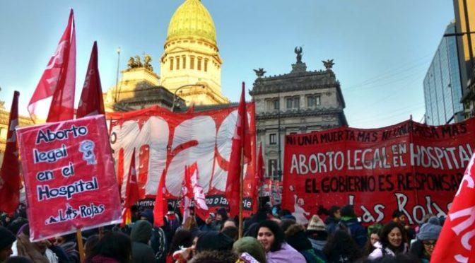 ¡Aborto legal ya en Argentina y toda América Latina!