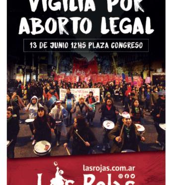 Nos preparamos para la histórica jornada del 13J por Aborto Legal Ya!