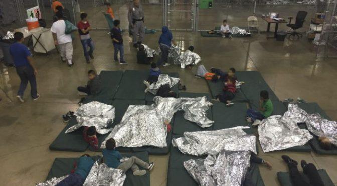 La política criminal de Trump ¡Basta de detener y separar a los niños migrantes!