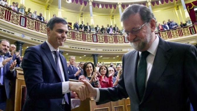 Sostener a Rajoy nunca, apoyar a Sánchez jamás