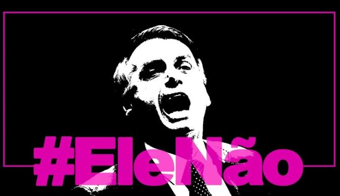 Las mujeres repudiamos a Jair Bolsonaro