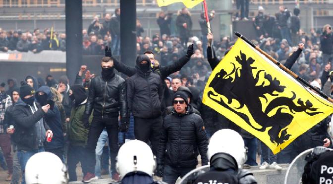Crisis política y polarización en las calles por la cuestión de la inmigración