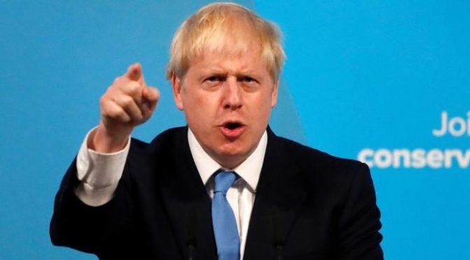 """Asumió Boris Johnson, un """"Donald Trump"""" británico"""